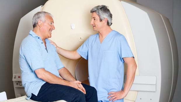 J. What Is Breast Cancer in Men? Promo Image