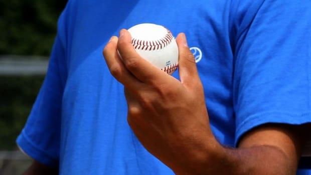 H. 9 Baseball Pitching Grips Promo Image