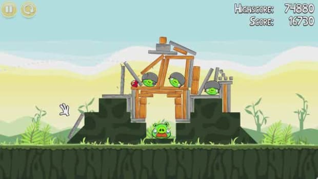 U. Angry Birds Level 2-21 Walkthrough Promo Image
