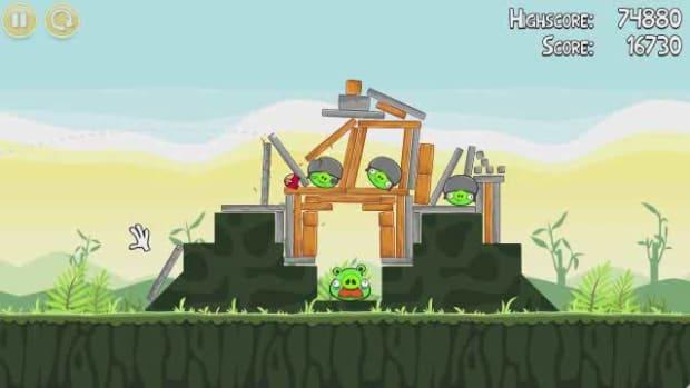 U. Angry Birds Level 2-21 Walkthrough Promo Image