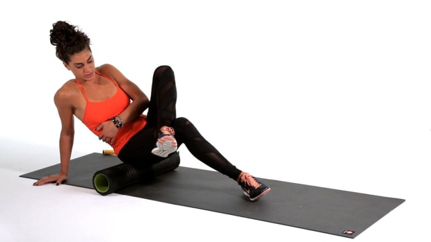 P. How to Foam Roll Your Glutes Promo Image