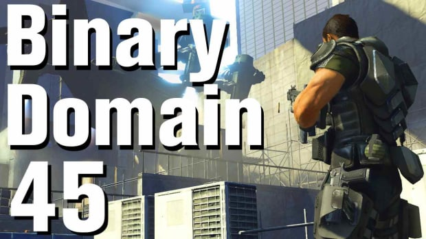 ZS. Binary Domain Walkthrough Part 45 - Scrap Area Promo Image
