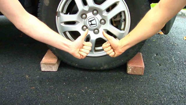 G. How to Change a Flat Tire Promo Image