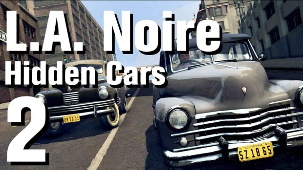 "B. L.A. Noire Walkthrough Hidden Cars 02: ""Chrysler Woody"" Promo Image"