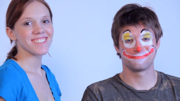 D. How to Paint a Clown Face with Face Paint Promo Image