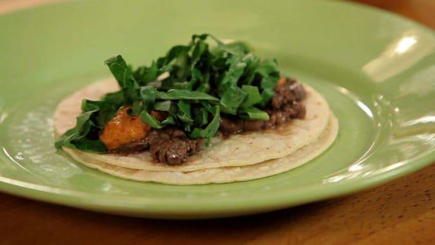 J. How to Make Steak Tacos with Peanut Salsa Promo Image