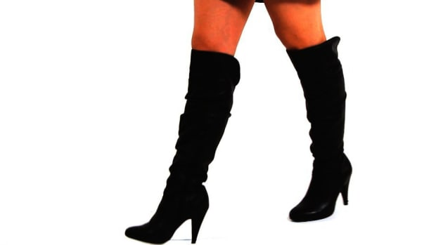 Q. How to Walk in High-Heeled Boots Promo Image