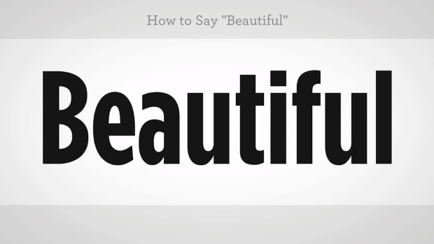 "ZZK. How to Say ""Beautiful"" in Mandarin Chinese Promo Image"