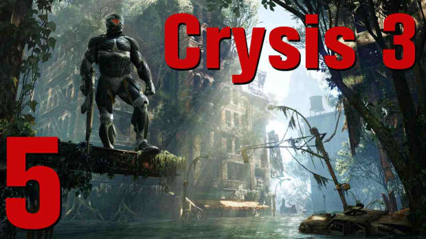 D. Crysis 3 Walkthrough Part 12 - Only Human Promo Image