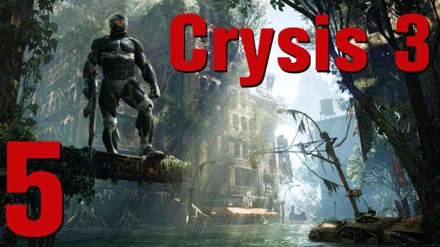 D. Crysis 3 Walkthrough Part 12 - Only Human Promo Image