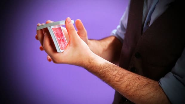 R. How to Do the Charlier Cut in Card Magic Promo Image