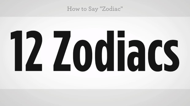 "ZZY. How to Say ""Zodiac"" in Mandarin Chinese Promo Image"