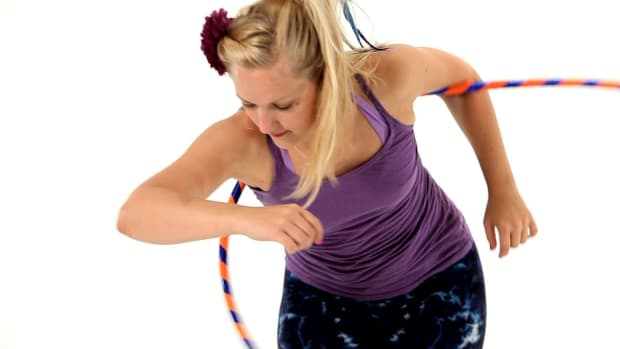 L. How to Do Hula Hoop Chest Reversals Promo Image