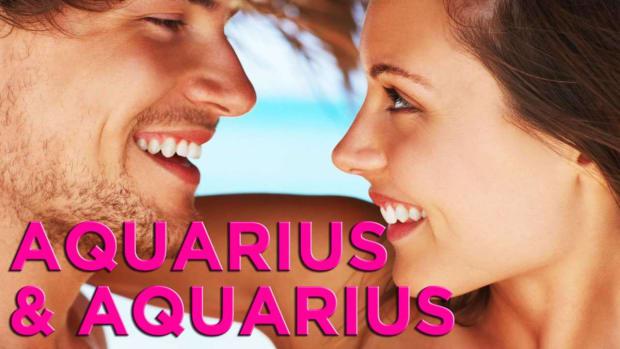 ZZZU. Is Aquarius Compatible with Aquarius? Promo Image