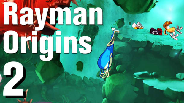 B. Rayman Origins Walkthrough 1-2: Geyser Blowout Promo Image