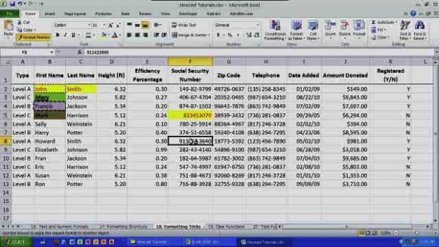 O. Essential Formatting Tricks in Excel Promo Image