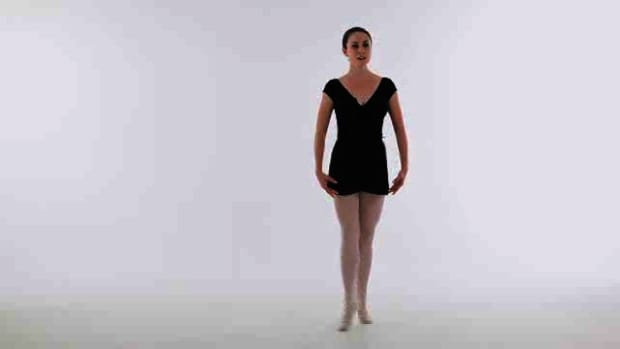 F. How to Do a Pas de Bourree in Ballet Promo Image