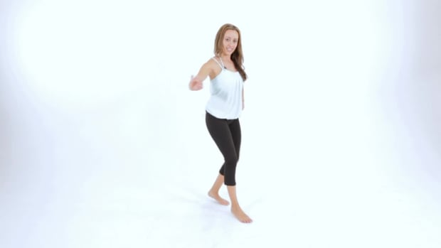 P. How to Do the Single Hip Accent Step in Samba Promo Image