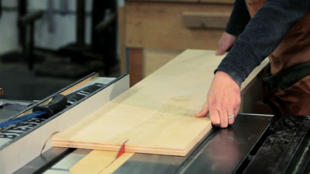 R. How to Use a Table Saw for Woodworking Promo Image