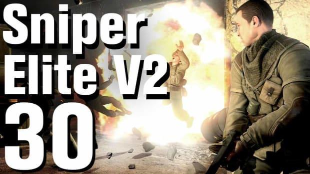 ZD. Sniper Elite V2 Walkthrough Part 30 - Karlshorst Command Post Promo Image