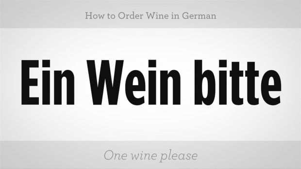 ZZZD. How to Order Wine in German Promo Image
