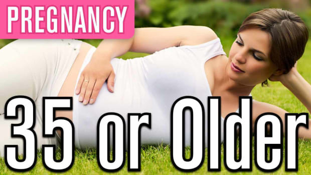 L. Being Pregnant at Age 35 or Older FAQs Promo Image