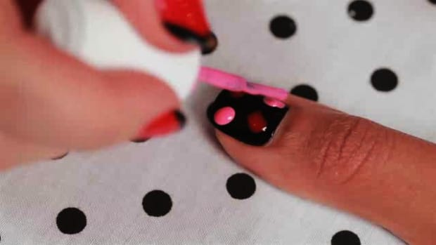 K. How to Create a Mexicali Roses Nail Art Design Promo Image