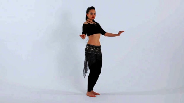 R. How to Do Reverse Undulations in Belly Dancing Promo Image