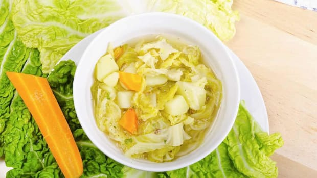 B. How to Lose Weight on the Cabbage Soup Diet Promo Image