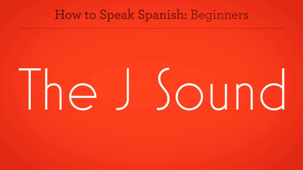 "ZZZF. How to Say ""J"" in Spanish Promo Image"