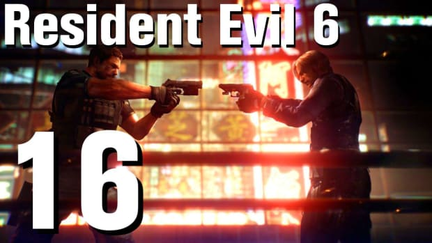 P. Resident Evil 6 Walkthrough Part 16 - Chapter 2 Promo Image
