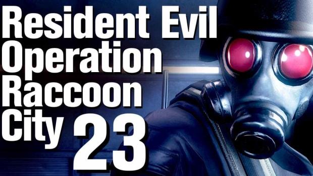 W. Resident Evil Operation Raccoon City Walkthrough Part 23 - Redemption Promo Image