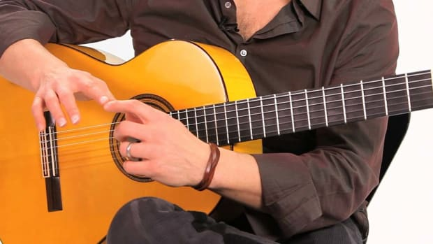 B. How to Produce Sound with Your Nails in Flamenco Guitar Promo Image