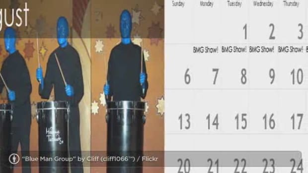 ZN. How to See Blue Man Group in Las Vegas Promo Image