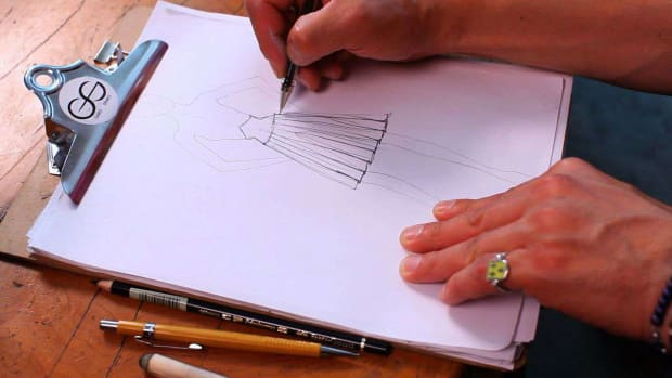 L. How to Draw a Pleat or Fold on a Fashion Sketch Promo Image
