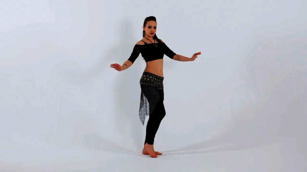 P. How to Do a Single Hip Vertical Figure 8 Belly Dance Move Promo Image