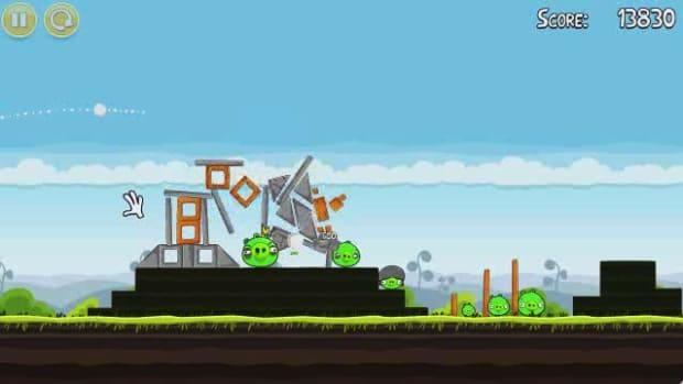 U. Angry Birds Level 4-21 Walkthrough Promo Image