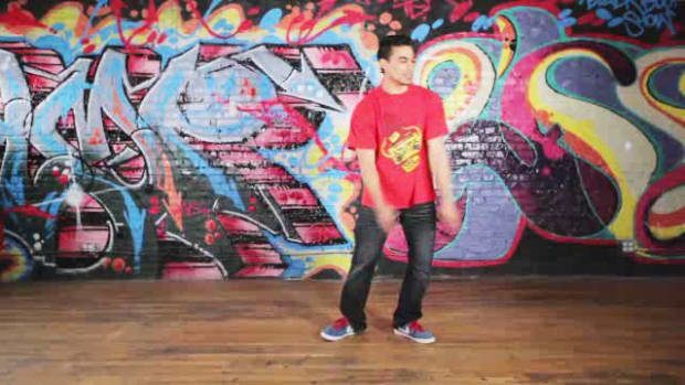 E. How to Do a Toprock Indian Step B-Boy Dance Move Promo Image