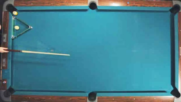 "ZZ. How to Do the ""Jump Masse"" Advanced Pool Trick Shot Promo Image"