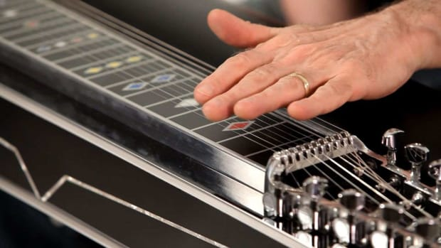 B. Pedal Steel Guitar Parts Promo Image