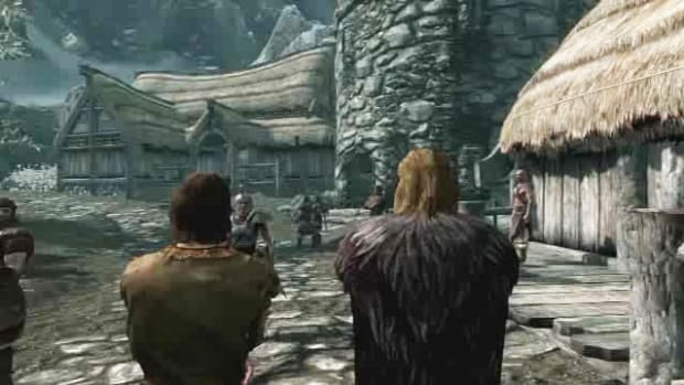 A. Skyrim Walkthrough Part 1 - Introduction Promo Image
