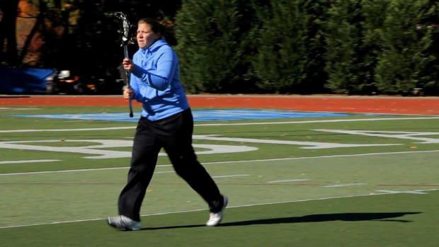 P. Passing Drills in Women's Lacrosse Promo Image