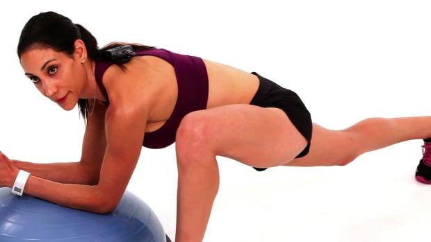 ZM. How to Do a Hip Flexor Stretch with a Bosu Ball Promo Image