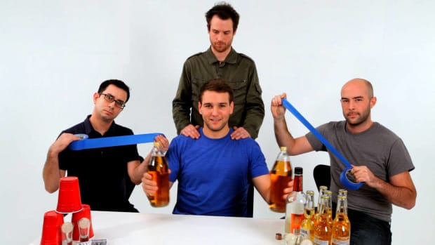 W. How to Play the Drinking Game Edward 40 Hands Promo Image