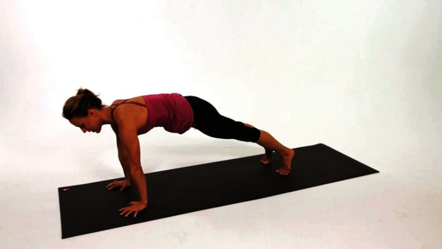 N. How to Do a Plank Yoga Pose Promo Image