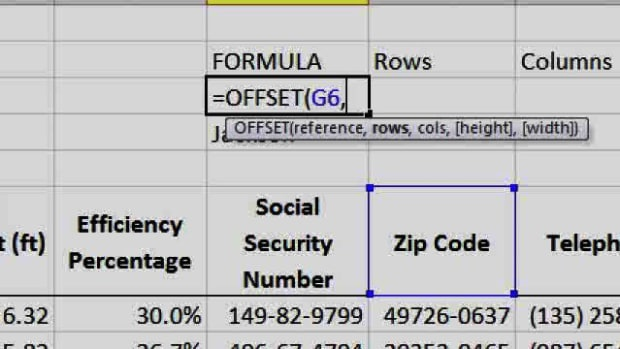 ZA. What's the Offset Function in Excel? Promo Image