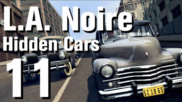 "K. L.A. Noire Walkthrough Hidden Cars 11: ""Stout Scarab"" Promo Image"