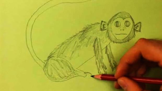 J. How to Draw a Monkey Promo Image