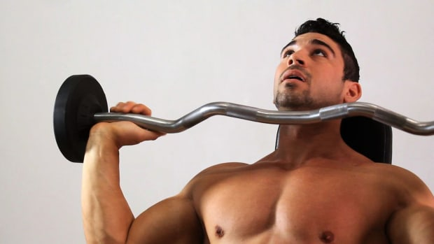 ZF. How to Do the Overhead Shoulder Press for an Arm Workout Promo Image