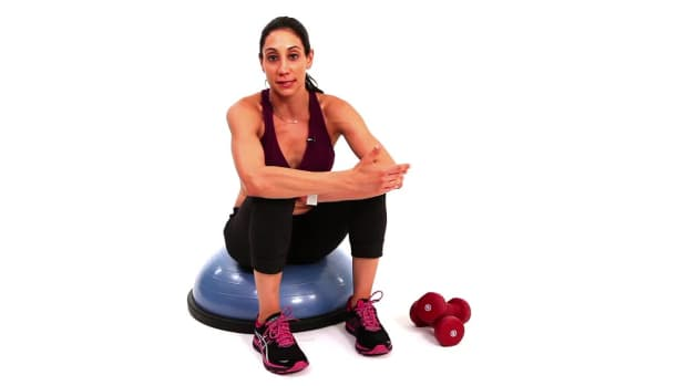 ZX. How to Do an Exercise Ball Workout with Rachel Shasha Promo Image
